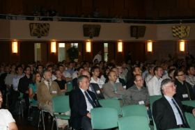 Auditorium during the Official Opening of the PSE 2012 in the Room Richard-Strauss
